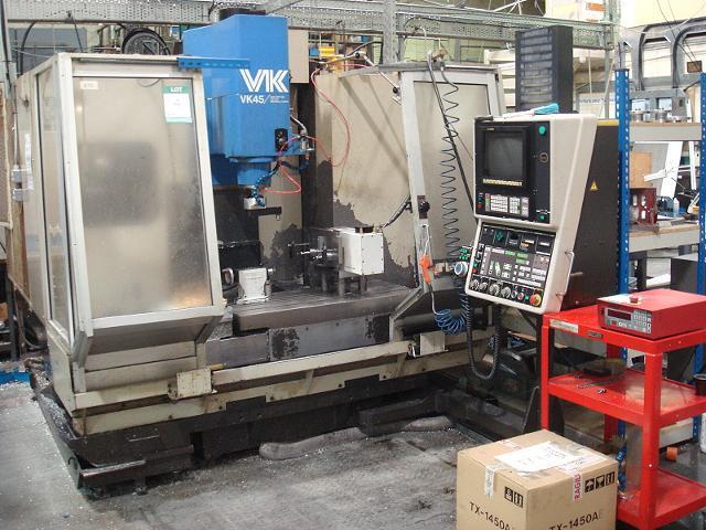 hitachi seiki vk45 vertical machining centre 1st machinery rh 1stmachineryauctions com Hitachi Seiki CNC Hitachi Seiki HT20