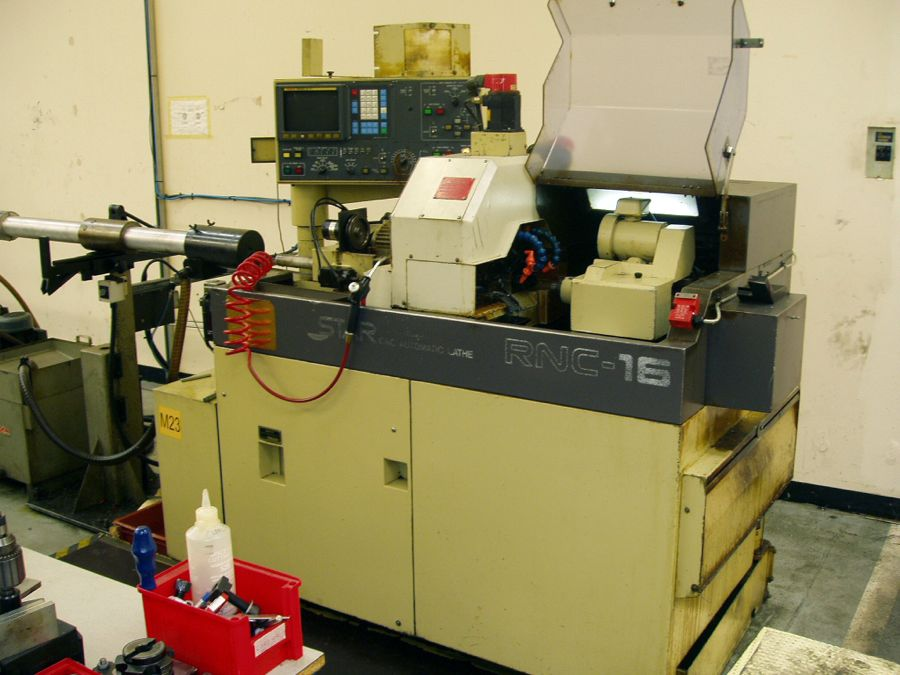 STAR RNC-16B Sliding Head Lathe