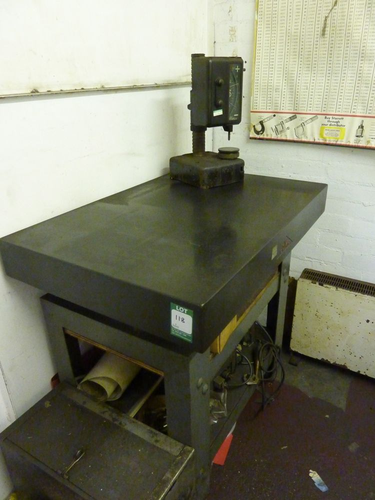 Crown Granite Inspection Table 24 Quot X 36 Quot 1st Machinery