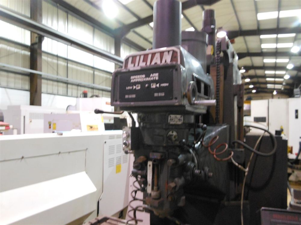 Lilian Bm 5v 3 Axis Cnc Milling Machine 1997 1st Machinery