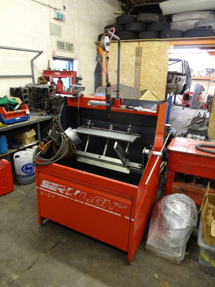 valve seat machine