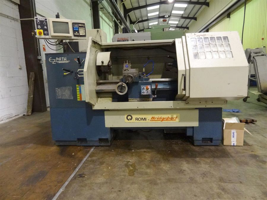 Bridgeport EZ Path CNC Lathe(1995)