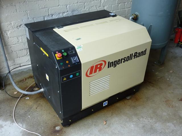 Ingersoll Rand Ssr M5 5 Compressor With 340l Air Receiver