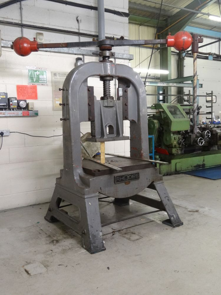 Rhodes Fly Press 760mm X 850mm Table Abf1 1st Machinery