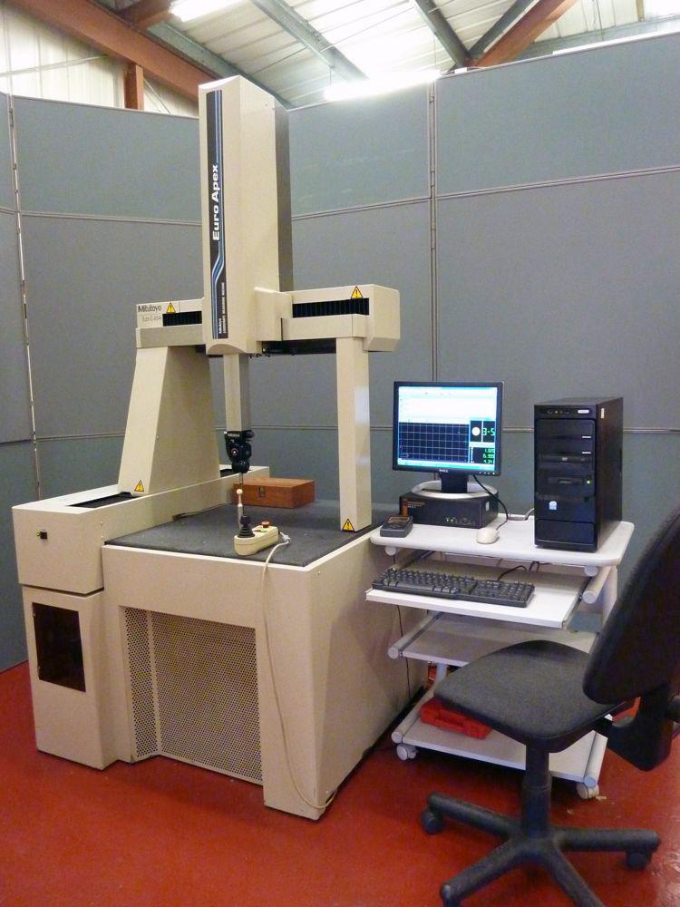 Mitutoyo Euro C Apex 544 Cnc Cmm 1st Machinery