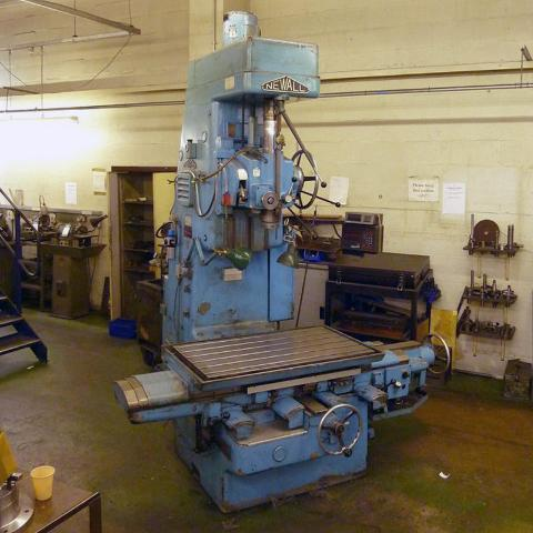 Newall Jig Borer With Tooling And Dro 1st Machinery