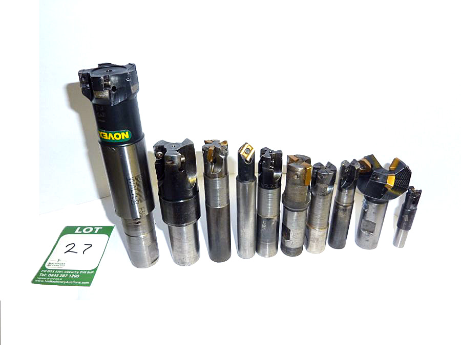 Selection of 10 x Milling Cutters