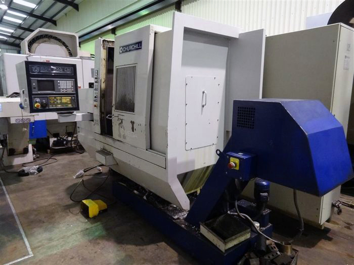 Churchill Omega 80 CNC Lathe with C axis and driven tools