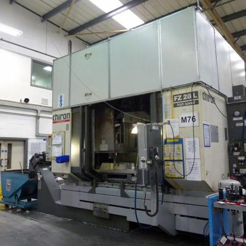 Chiron FZ28L Vertical Machining Centre