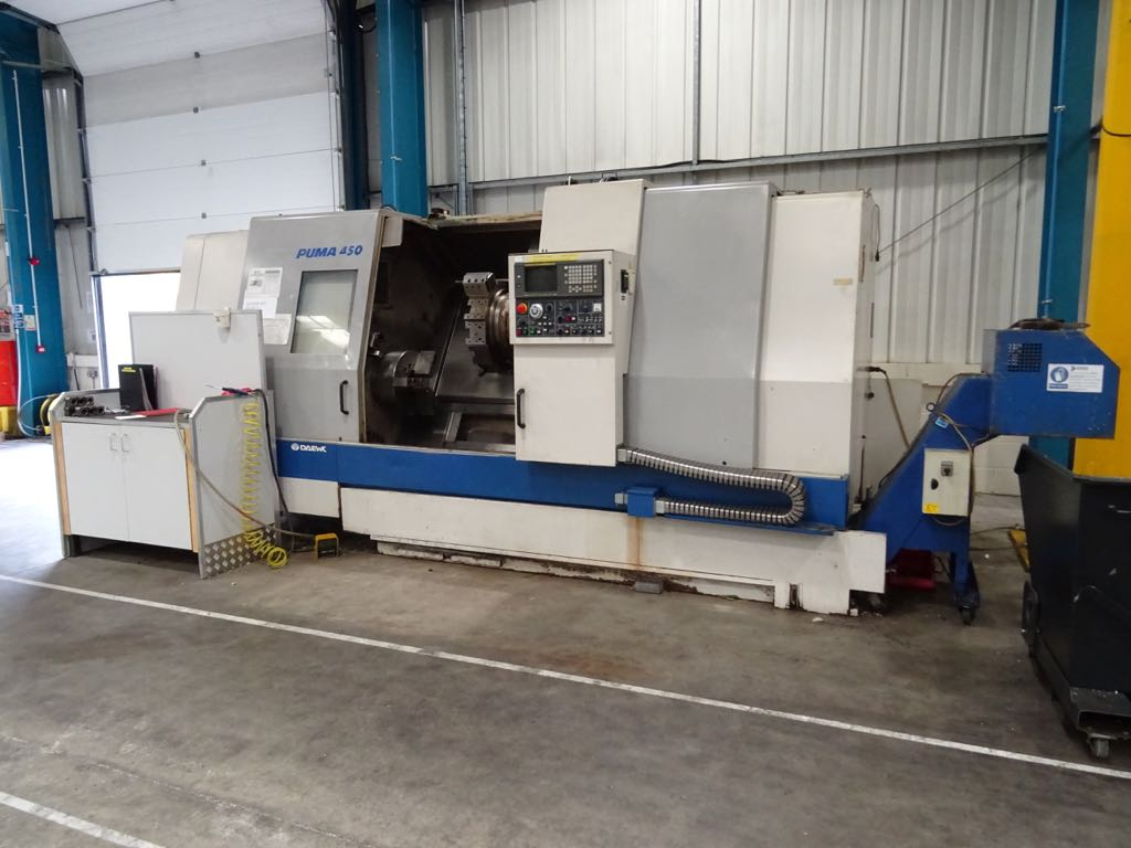 Doosan Puma 450 2 100 [ doosan machine tools manuals puma ] cnc lathe,doosan lynx  at n-0.co