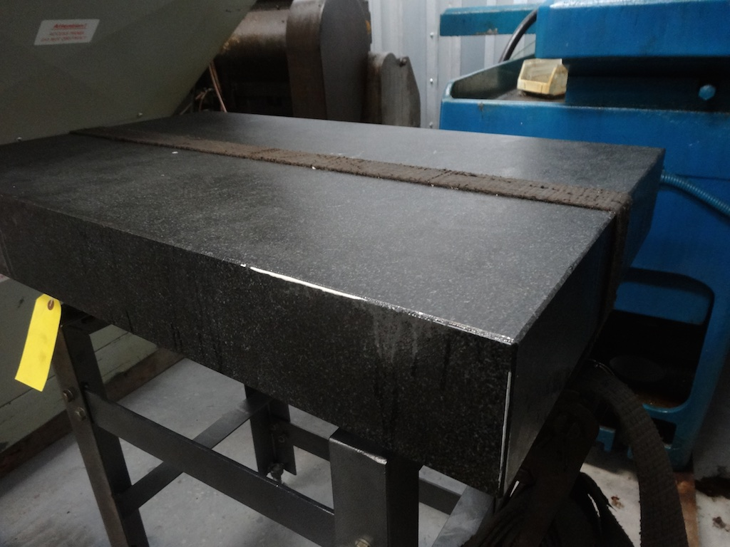 Granite Surface Table On Stand 800mm X 500mm 1st Machinery