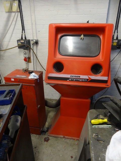 Preview image & Guyson JetStream Shot Blast Cabinet - 1st Machinery