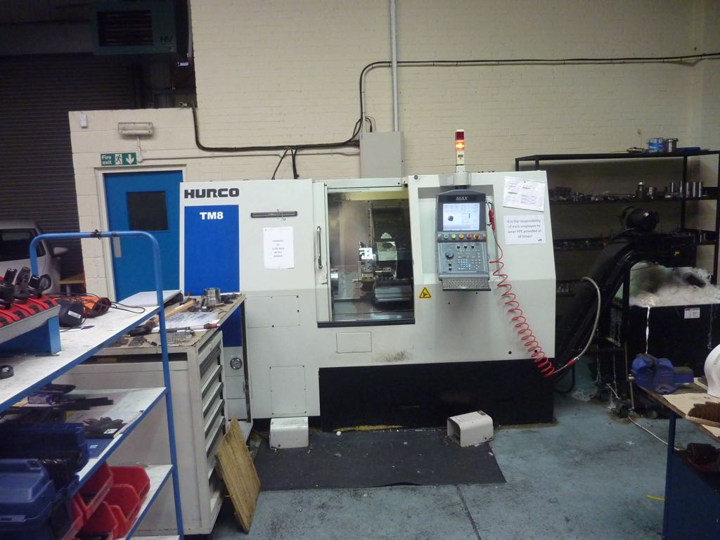 Hurco TM8 CNC Lathe & Tooling Package (2010) - 1st Machinery
