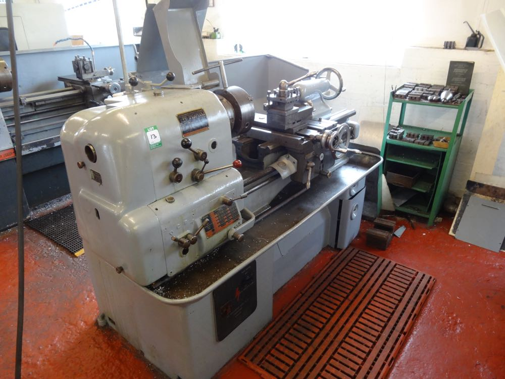Colchester Round Head Lathe - 1st Machinery