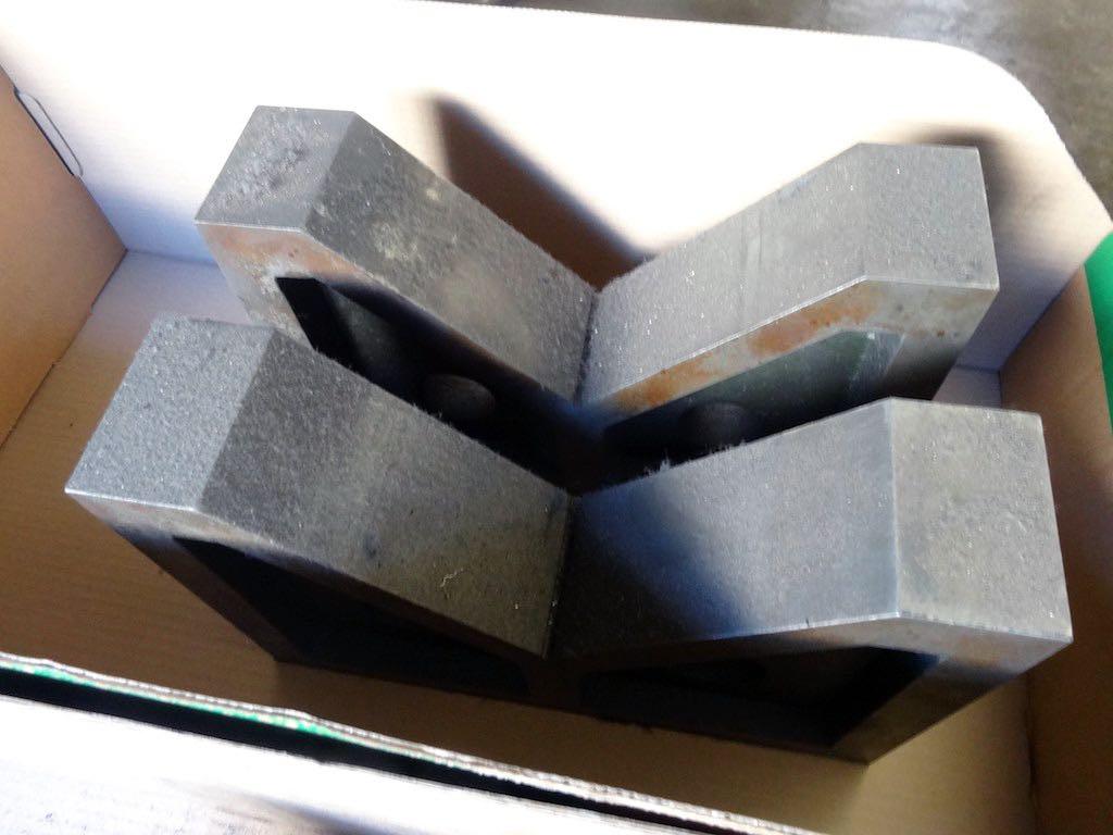 Set Of 5 Large V Blocks 1st Machinery