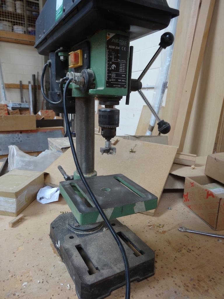 Rexon Rdm 30a 240v Bench Drill 1st Machinery
