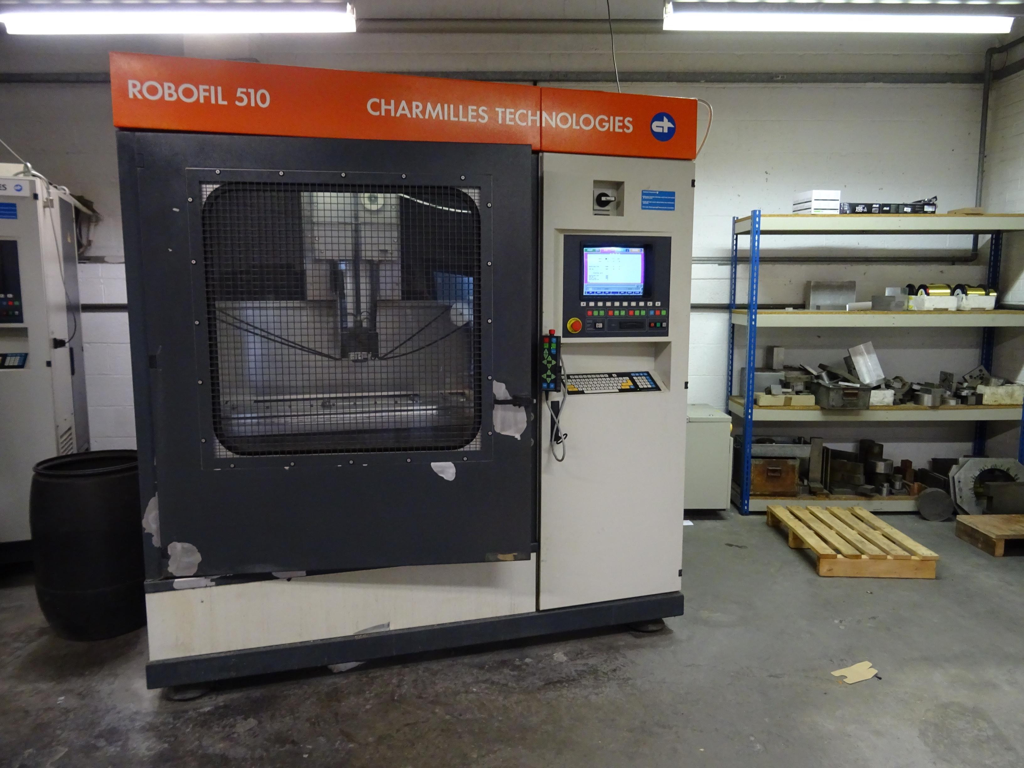 Charmilles Robofil 510 1st Machinery