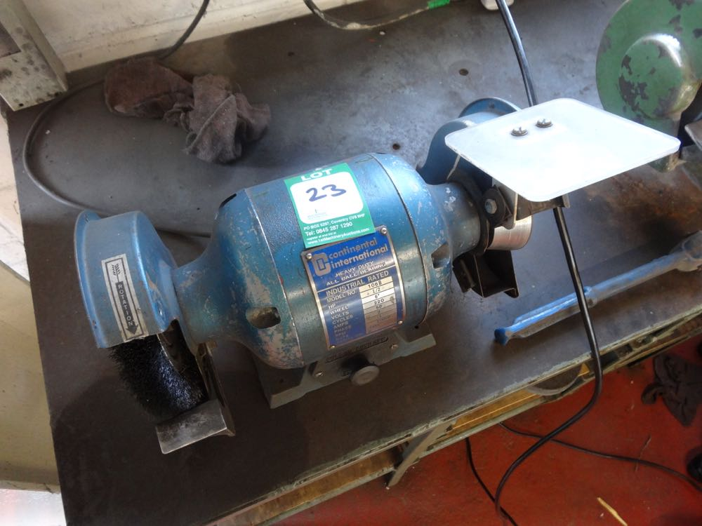 Bench Grinder 6 Quot Heavy Duty Continental International All