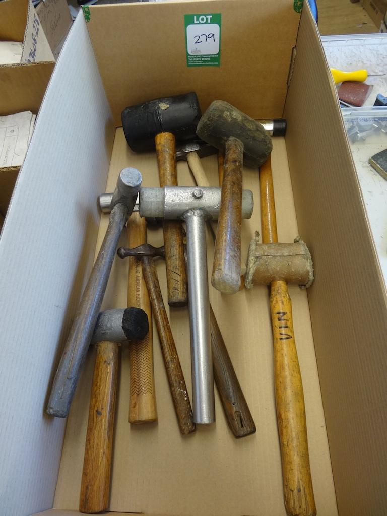 Box Of Hammers 1st Machinery
