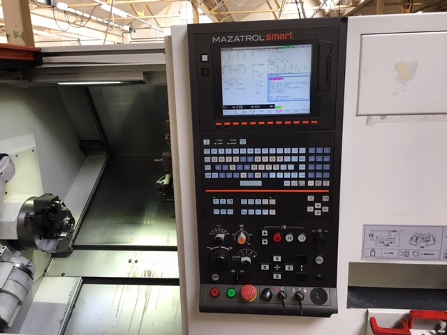 Mazak Smart Turn 200M cnc lathe with C axis and milling