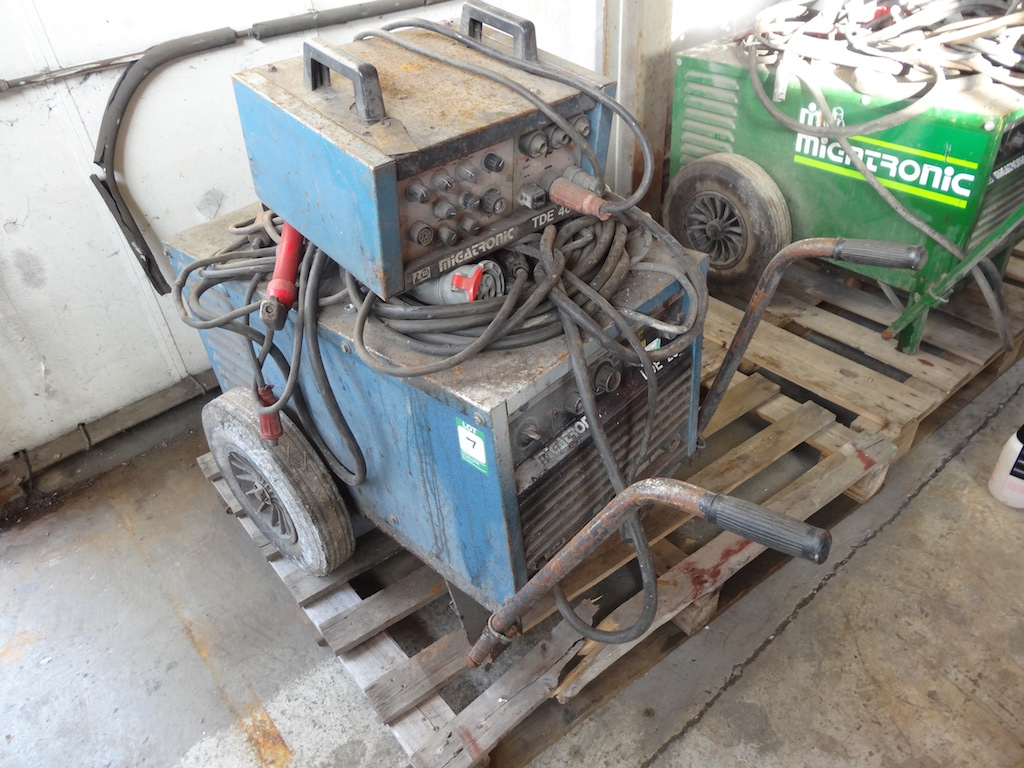 Migatronic lde 400 manual