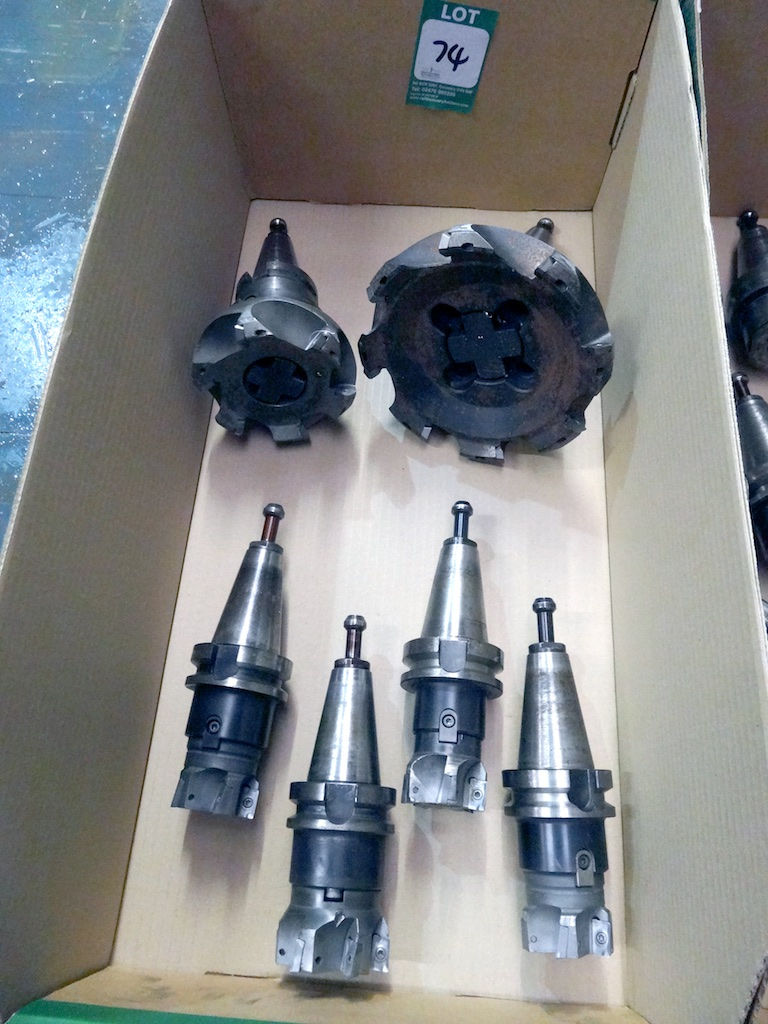 Selection Of Bt40 Side And Face Milling Cutter Holders And