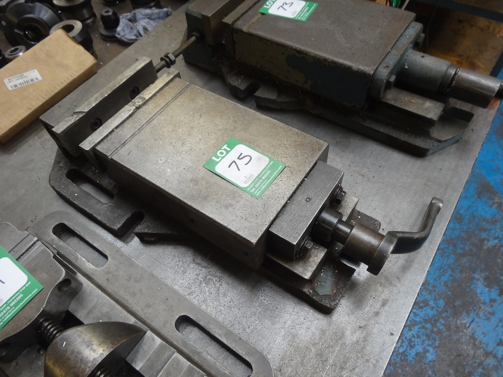 machine vice handle