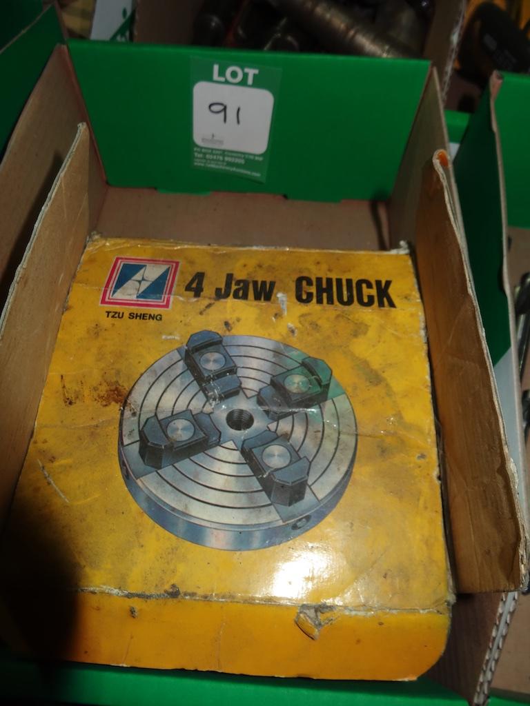 "4 Jaw 6"" Chuck (New)"