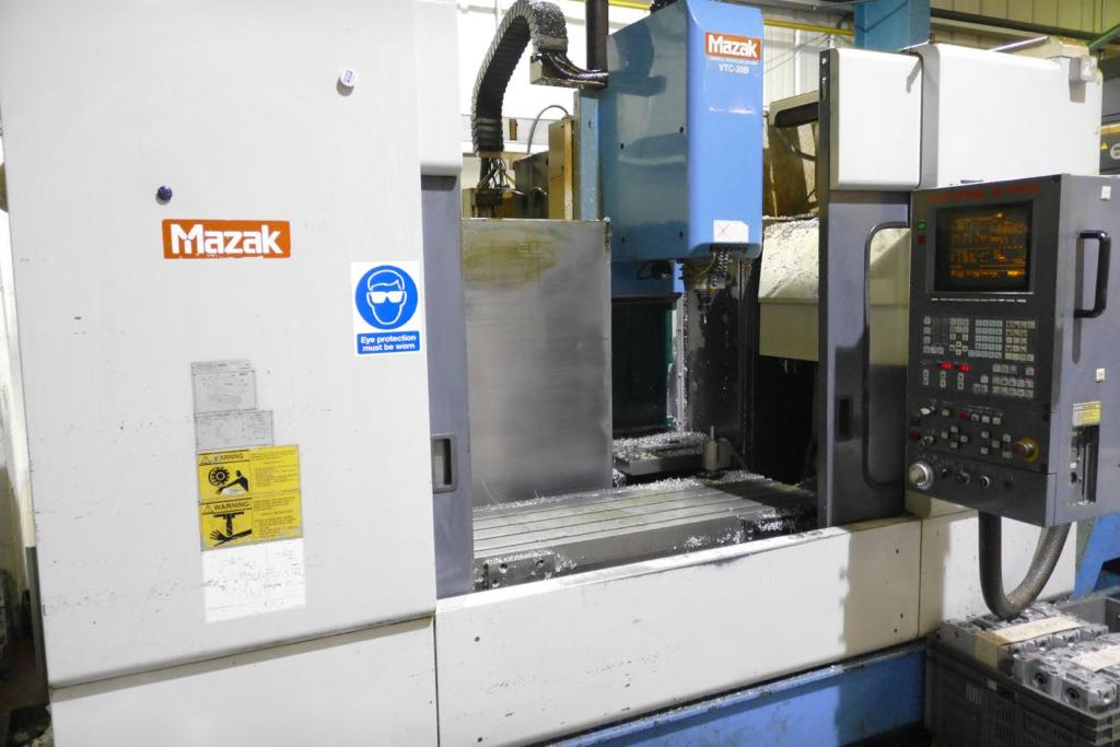 mazak vtc 20b vertical machining centre 1996 1st machinery. Black Bedroom Furniture Sets. Home Design Ideas
