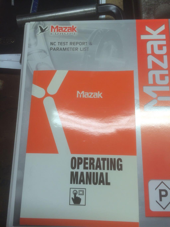 mazak quick turn 250 manual