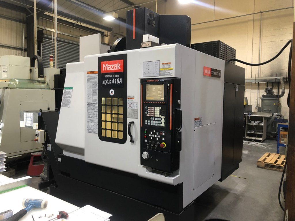 Mazak Nexus 410A Vertical Machining Centre (2005) - 1st