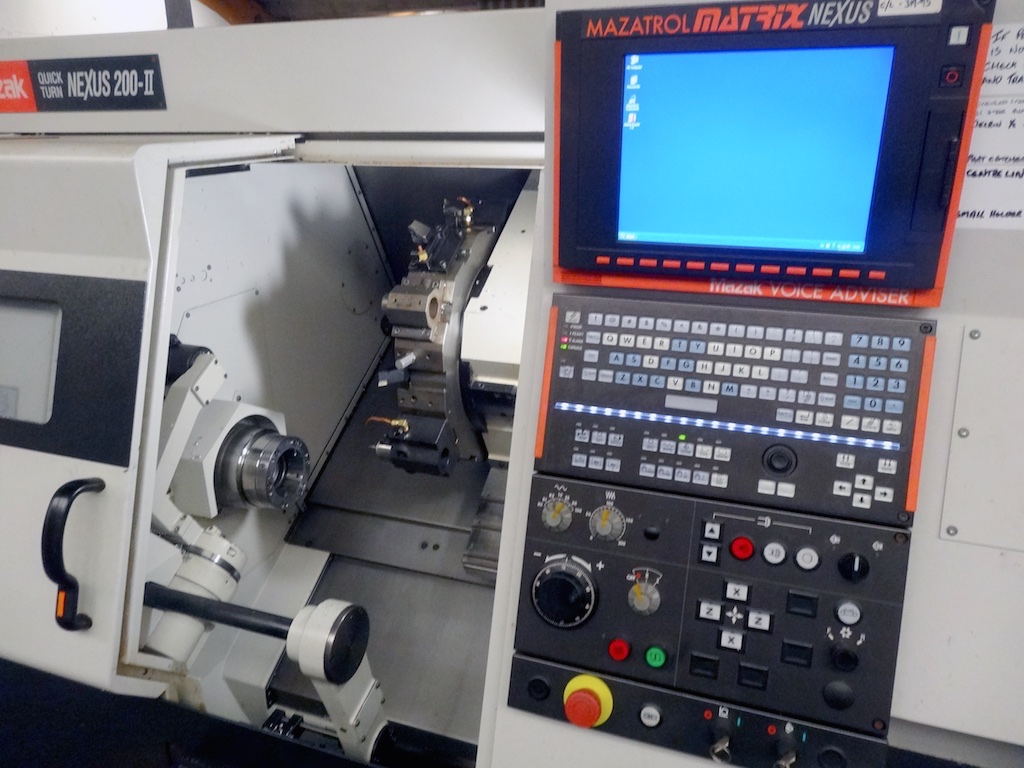 Mazak Nexus 200 II with Multifeed Barfeed (2008) - 1st Machinery