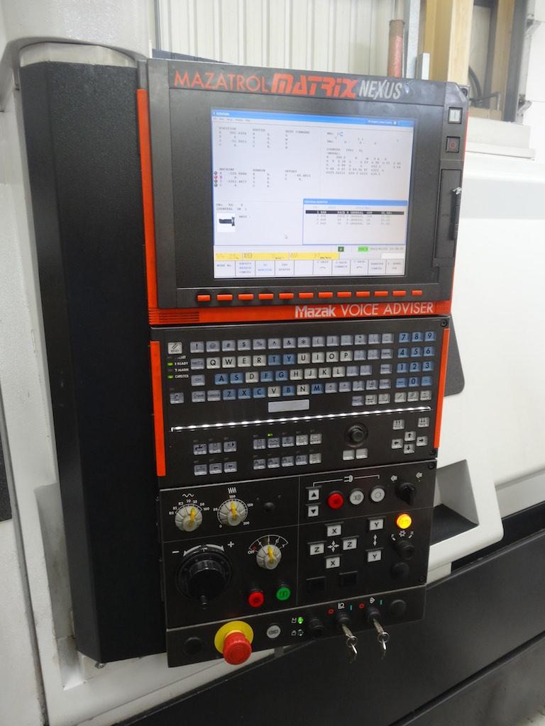 Mazak Quickturn 350-II MY CNC Lathe with Hydraulic steady