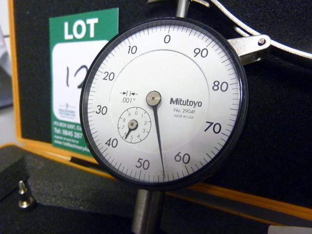 Mitutoyo Clock No 2904f 1st Machinery