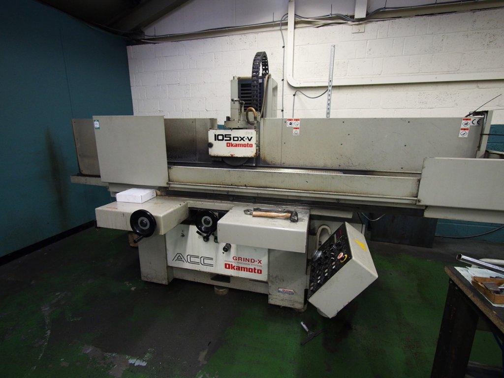 Okamoto 105 DX-V Surface Grinder - 1st Machinery on