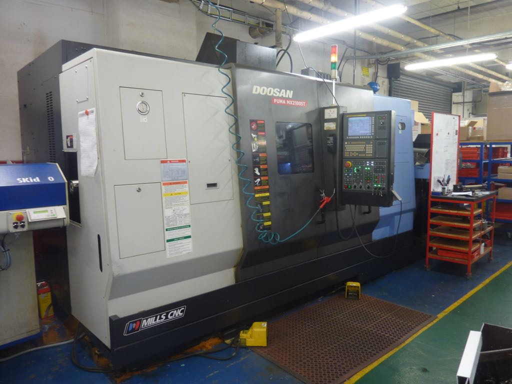 Puma MX2100ST 1 1 100 [ doosan machine tools manuals puma ] cnc lathe,doosan lynx  at virtualis.co