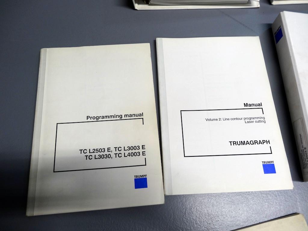 trumpf laser manual product user guide instruction u2022 rh testdpc co TRUMPF Laser Operator Manual Trumpf Laser Maintenance