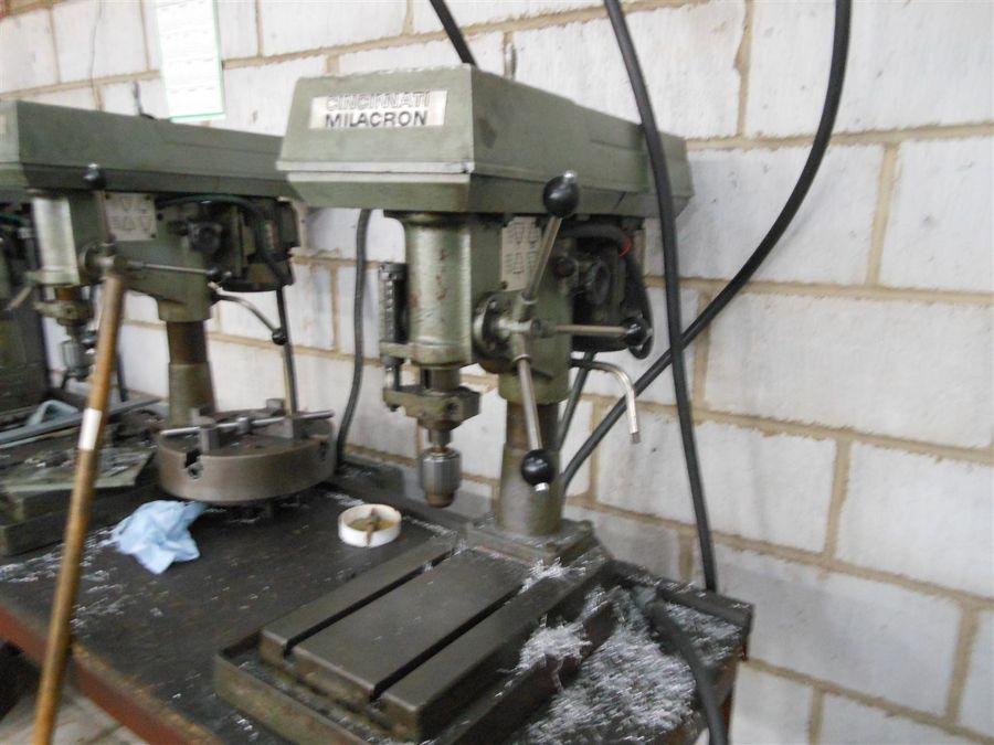 Cincinnati Milacron Type M1 High Speed Bench Top Drilling Machine 1st Machinery