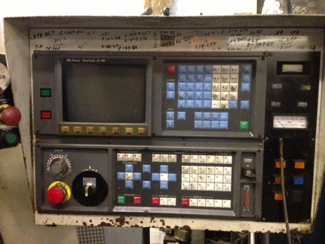 Beaver VC55 CNC Vertical Machining Centre With Fanuc OM