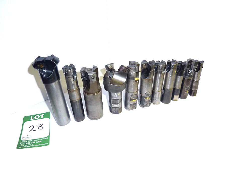 Selection of 11 x Milling Cutters