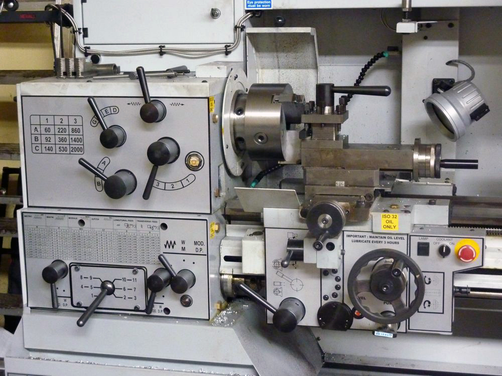 XYZ 1430M Lathe with DRO (2009)
