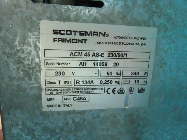 Scotsman Ac45 Ice Maker 1st Machinery