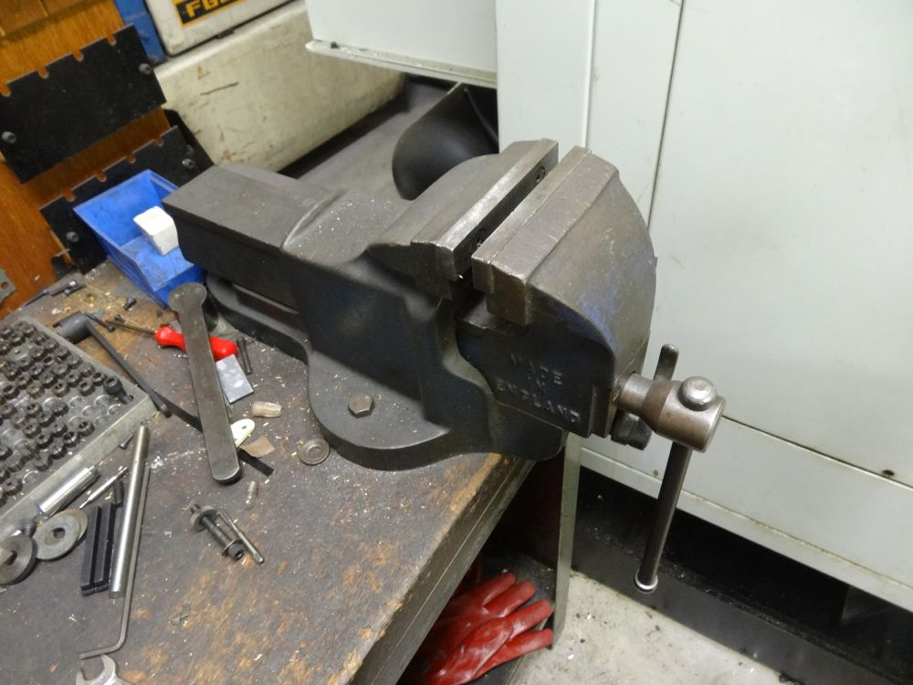 Record No 24 Quick Release Bench Vice 1st Machinery