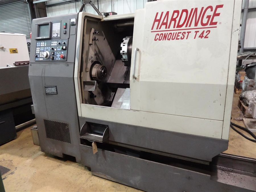 Hardinge Conquest T42 2 Axis CNC Turning Centre (1995)