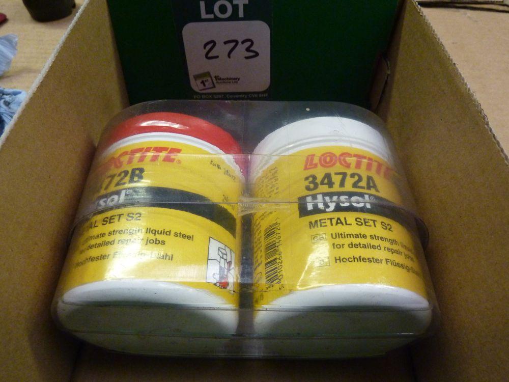 Loctite Hysol metal S2 Ultimate Strength Liquid Steel Set - 1st