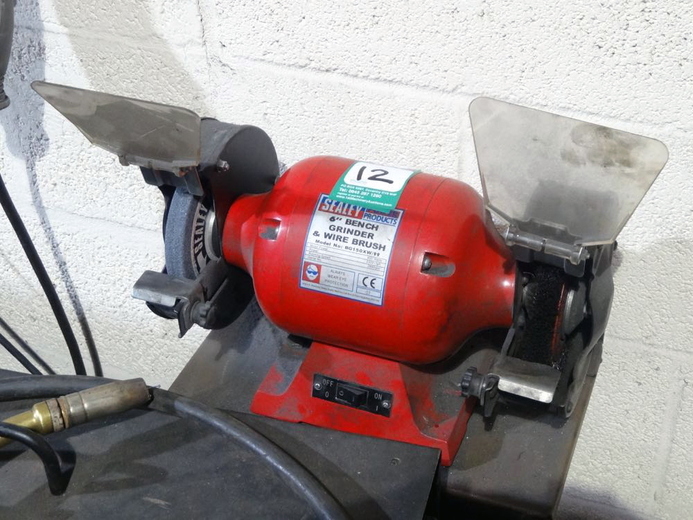 Sealey 6 Inch Bench Grinder 1st Machinery